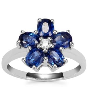 Daha Kyanite Ring with White Topaz in Sterling Silver 2.55cts