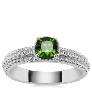 Chrome Diopside Ring in Sterling Silver 0.64ct