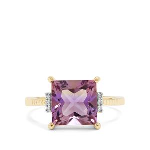 Anahi Ametrine & Diamond 9K Gold Ring ATGW 3.18cts