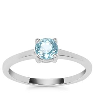 Ratanakiri Blue Zircon Ring in Sterling Silver 0.83ct