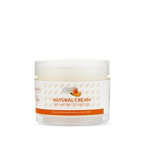 Natural Face Cream with Apricot Seed Oil 100ml
