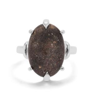 Andamooka Opal Ring in Sterling Silver 8.56cts