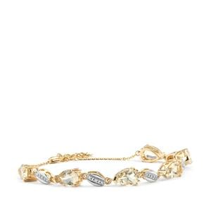 Serenite Bracelet with Diamond in 18K Gold 7.44cts