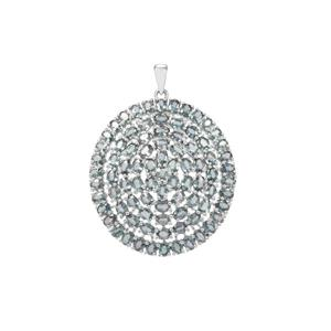 Umba Sapphire Pendant in Sterling Silver 19.37cts