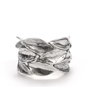 Seasons Sterling Silver Leaf Ring