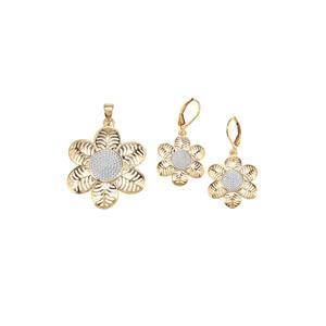 Midas Set of Pendant & Earrings