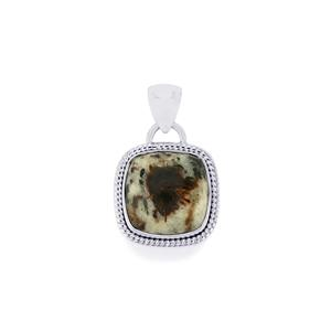 Astrophyllite Pendant in Sterling Silver 14.50cts