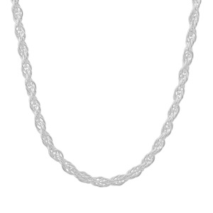 "22"" Sterling Silver Couture Cordino Chain 4.09g"
