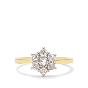 1/2ct Diamond 18K Gold Toams Rae Ring