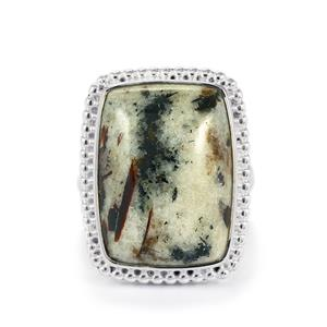 Astrophyllite Ring in Sterling Silver 17.50cts