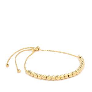 """10"""" Midas Altro Ball Slider Bracelet 4.29g"""