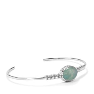 Aquaprase™ Bangle in Sterling Silver 4.44cts