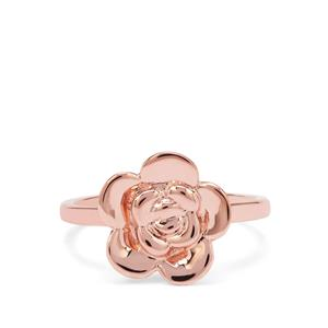 Ring in Rose Gold Plated Sterling Silver