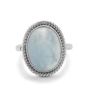 10ct Aquamarine Sterling Silver Aryonna Ring