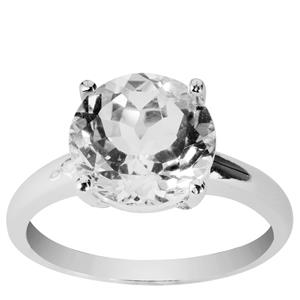 4.48ct Cullinan Topaz Sterling Silver Ring