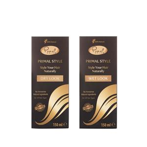 100% Natural Hair Styling Gel (150ml) - Choice of Wet or Dry Finish
