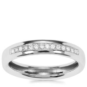 Diamond Ring in Platinum 950 0.11ct