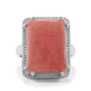 9.49ct Pink Lady Opal Sterling Silver Aryonna Ring