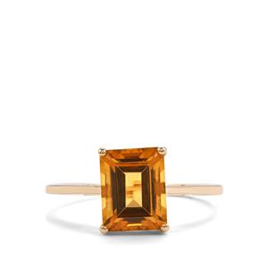 2.26ct Marialite 10K Gold Ring