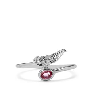 Sakaraha Pink Sapphire Ring in Sterling Silver 0.22ct
