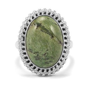 8ct Chemin Opal Sterling Silver Aryonna Ring (F)