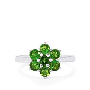 Chrome Diopside Ring in Sterling Silver 1.47cts