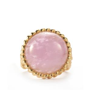 Kunzite Sarah Bennett Ring in Sterling Silver 19.10cts