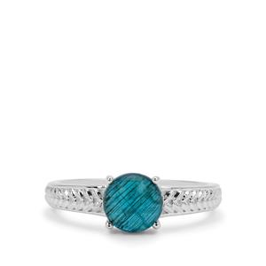 1.80ct Neon Apatite Sterling Silver Ring