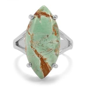 10ct Australian Variscite Sterling Silver Aryonna Ring