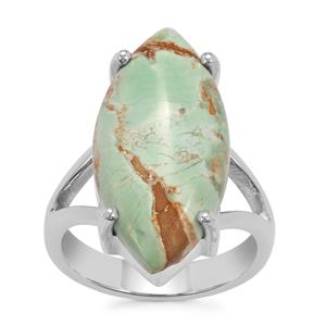 Australian Variscite Ring in Sterling Silver 10cts