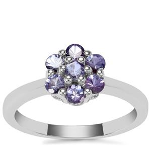 Tanzanite Ring in Sterling Silver 0.61cts