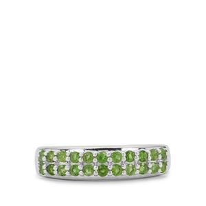 Chrome Diopside Ring in Sterling Silver 0.55ct