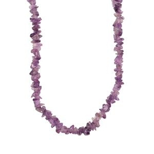 Zambian Amethyst Nugget Bead Necklace 600cts