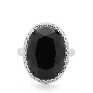 9.44ct Black Onyx Sterling Silver Ring
