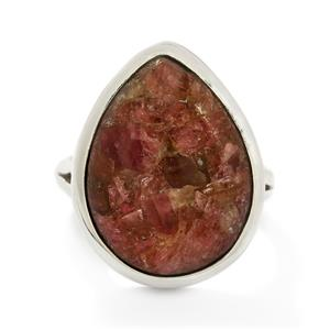 14.00ct Fusion Tourmaline Sterling Silver Aryonna Ring