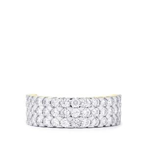 Diamond Ring  in 18k Gold 1.50cts