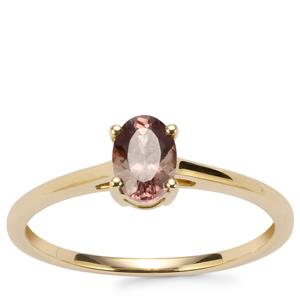 Menarandra Garnet Ring in 9K Gold 0.62ct