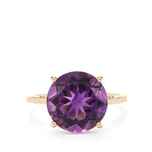 5.35ct Moroccan Amethyst 14K Gold Tomas Rae Ring