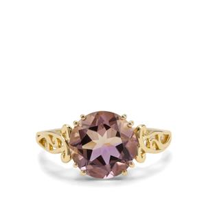 Anahi Ametrine Ring  in 9K Gold 3.28cts