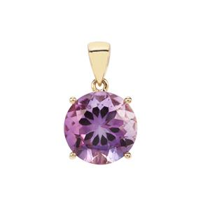 Moroccan Amethyst Pendant in 9K Gold 6.71cts