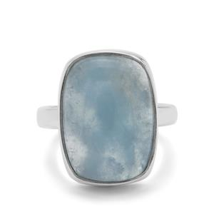 13ct Aquamarine Sterling Silver Aryonna Ring