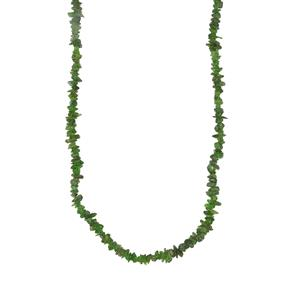 Chrome Diopside Nuggets Bead Necklace 400cts
