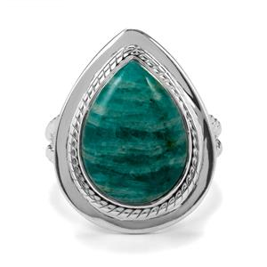 8ct Amazonite Sterling Silver Aryonna Ring