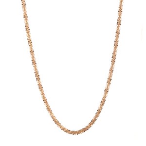 "20"" 9K Gold Couture Criss Cross Chain 3.40g"