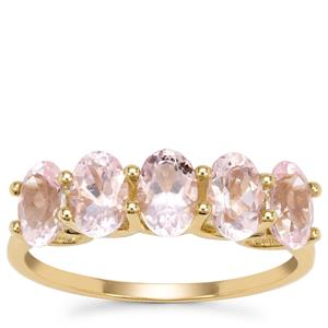 Cherry Blossom™ Morganite Ring in 9K Gold 2.02cts