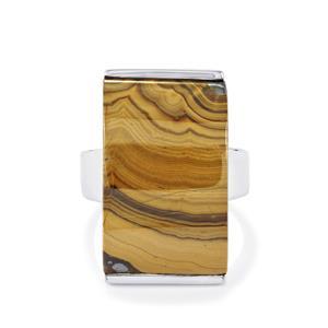 27.50ct Schelm Blend Sphalerite Sterling Silver Ring