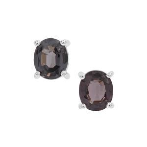 Burmese Spinel Earrings in Sterling Silver 1.53cts