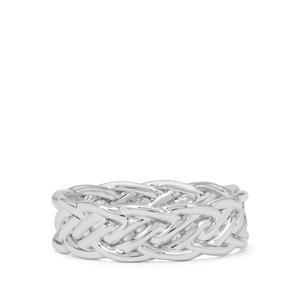 Ring in 9K White Gold