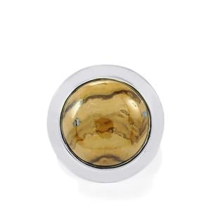 Schelm Blend Sphalerite Ring in Sterling Silver 20cts