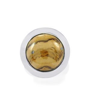 20ct Schelm Blend Sphalerite Sterling Silver Aryonna Ring